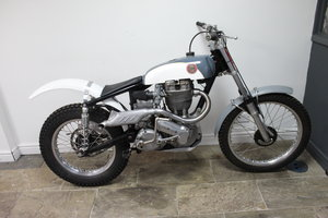 1958 Ariel 500 trials, Full alloy HT engine