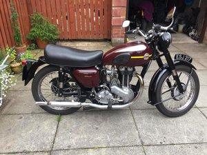 1955 ARIEL NH 350 MOTORCYCLE