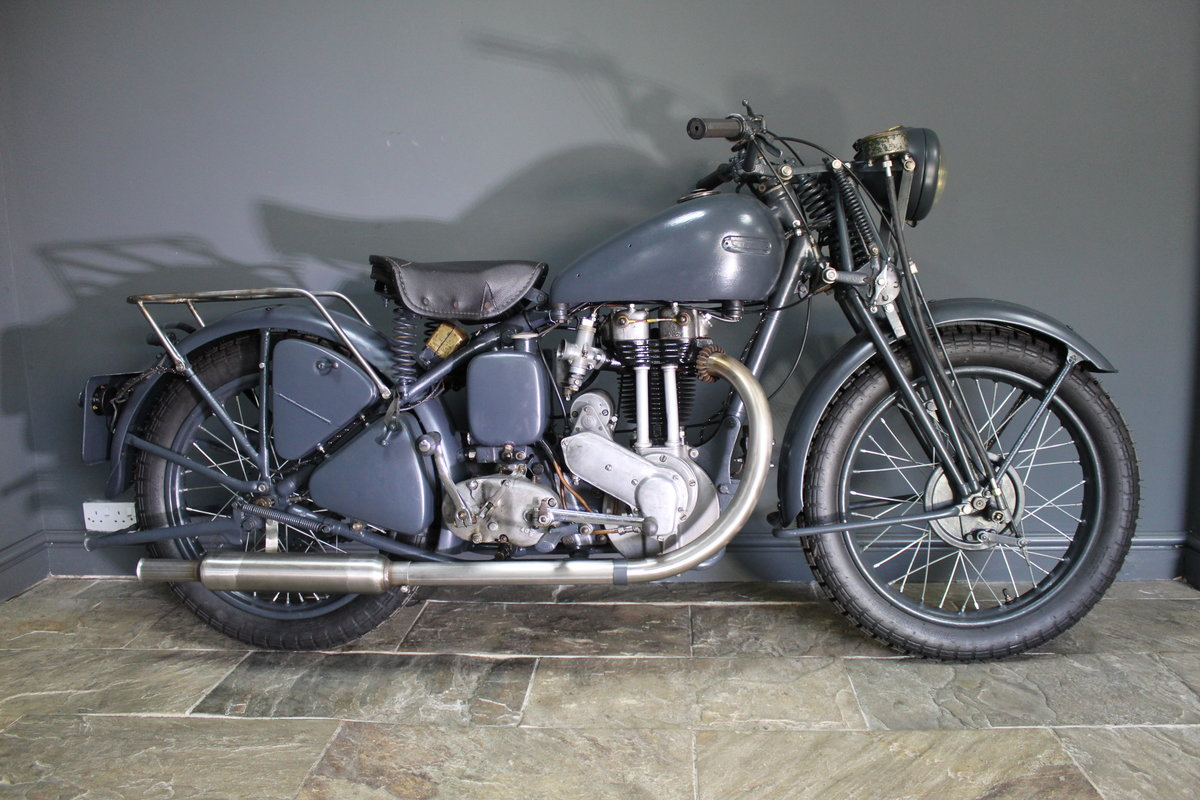 1940 Ariel WNG 350 cc OHV  , RAF War department model  For Sale (picture 5 of 6)
