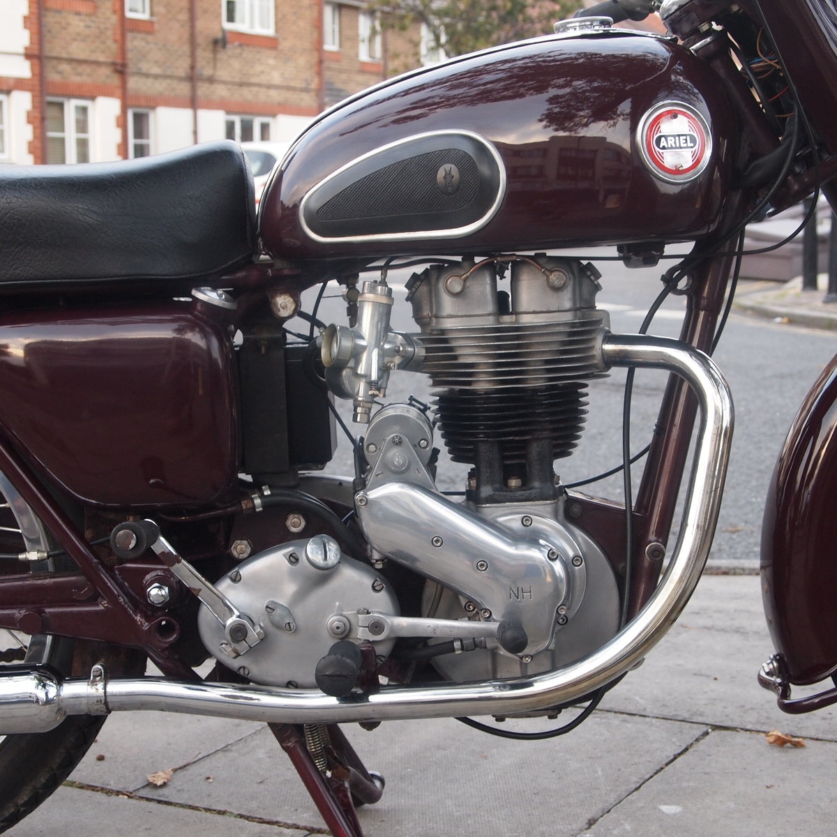 1957 Ariel NH350 Red Hunter, RESERVED FOR REMKO SOLD (picture 6 of 6)