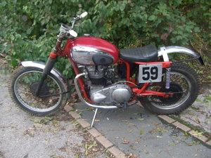 Picture of 1959 Ariel 500 trail/scrambler running project