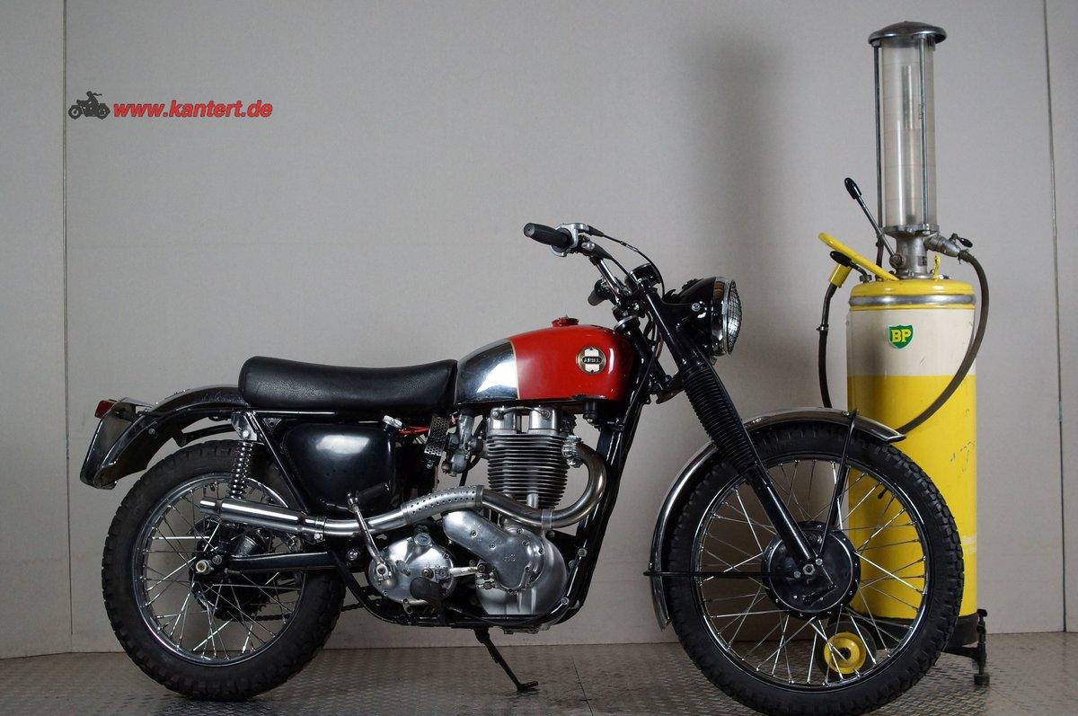 1955 Ariel HS 500 MK 1 Scrambler, 500 cc, 34 hp For Sale (picture 1 of 6)