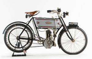 Picture of 1904 Ariel 334cc (see text)