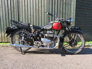 Picture of 1940 Ariel 599cc Model 4F Square Four For Sale by Auction