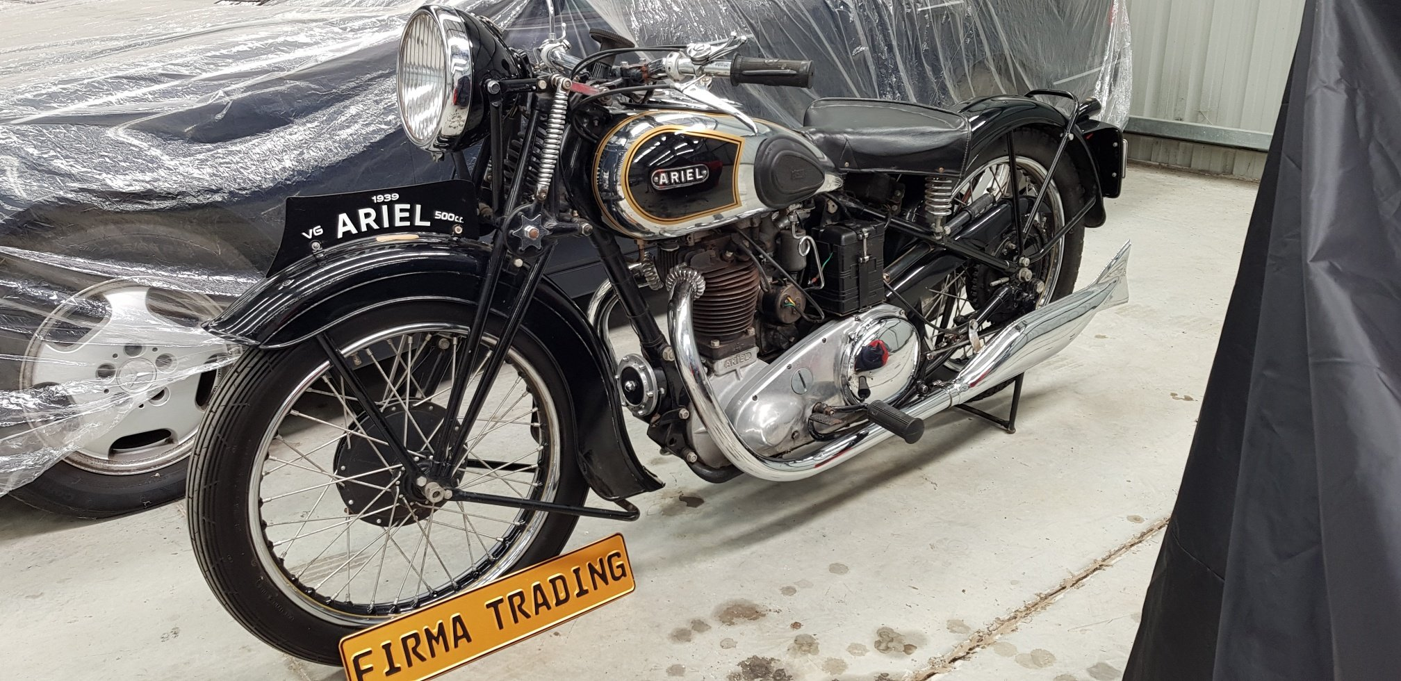 1939 Ariel VG 500cc by Firma Trading Australia For Sale (picture 1 of 6)