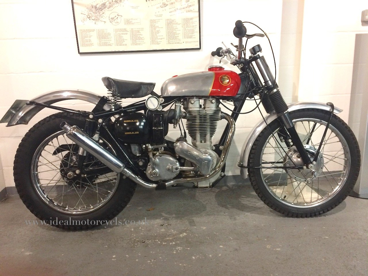 1957 Ariel HT5 500cc For Sale (picture 1 of 8)