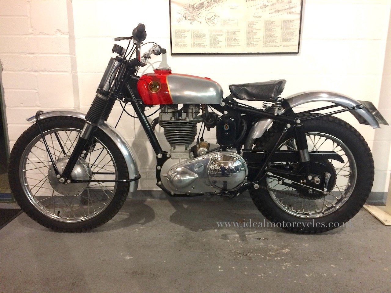 1957 Ariel HT5 500cc For Sale (picture 8 of 8)