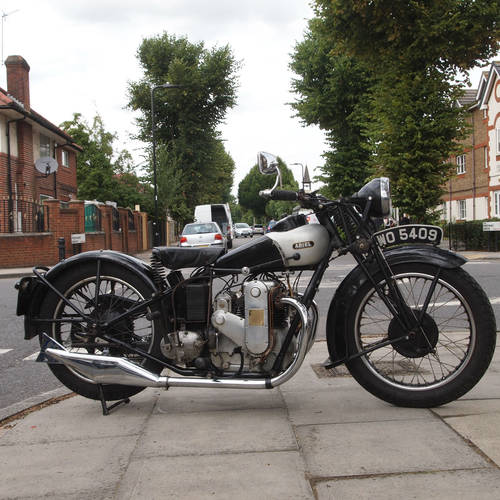 1931 Ultra Rare 500cc Square Four. For Sale (picture 1 of 6)