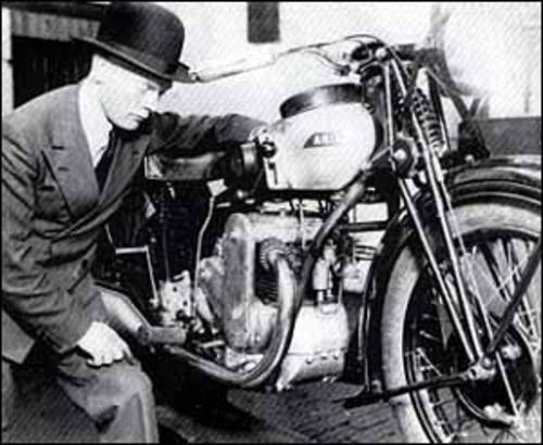 1931 Ultra Rare 500cc Square Four. For Sale (picture 6 of 6)