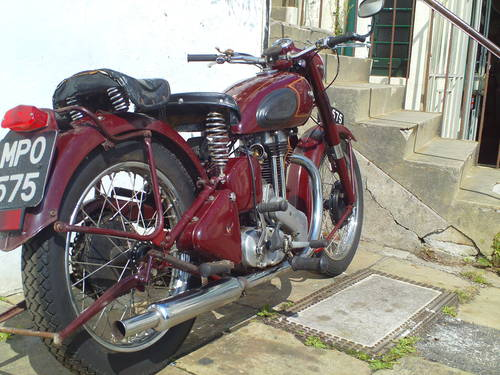 1951 ARIEL VH 500 RED HUNTER SOLD (picture 2 of 6)