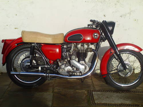 1959 ARIEL VH 500 RED HUNTER SOLD (picture 1 of 6)