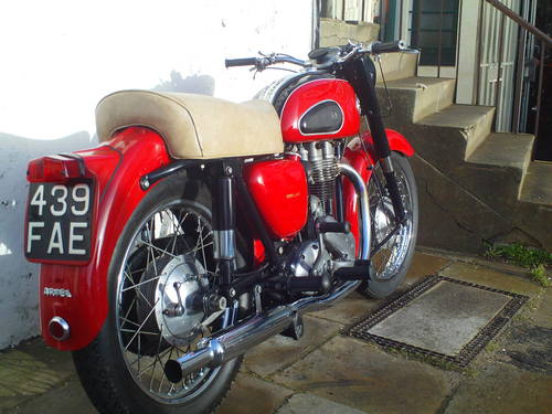 1959 ARIEL VH 500 RED HUNTER SOLD (picture 2 of 6)