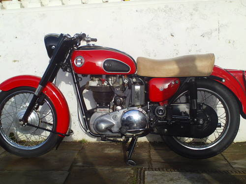1959 ARIEL VH 500 RED HUNTER SOLD (picture 3 of 6)