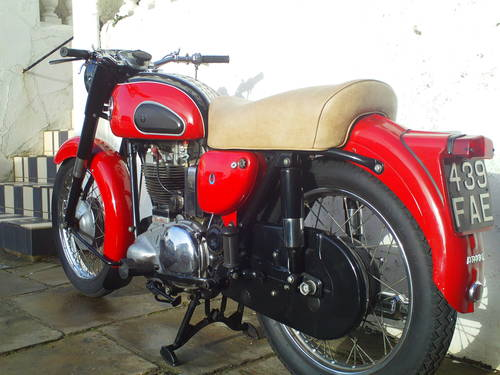 1959 ARIEL VH 500 RED HUNTER SOLD (picture 4 of 6)