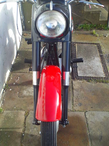 1959 ARIEL VH 500 RED HUNTER SOLD (picture 5 of 6)