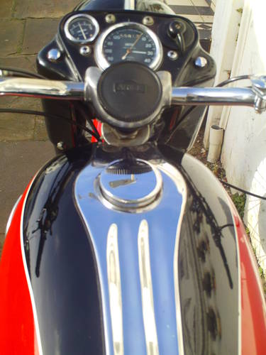 1959 ARIEL VH 500 RED HUNTER SOLD (picture 6 of 6)