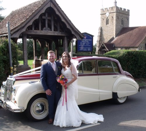 1955 Classic Wedding Cars from the 1950's For Hire (picture 4 of 6)