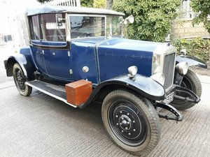1926 ARMSTRONG SIDDLEY 'RARE' DOCTORS COUPE