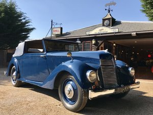 1946 ARMSTRONG SIDDELEY HURRICANE DROPHEAD COUPE For Sale