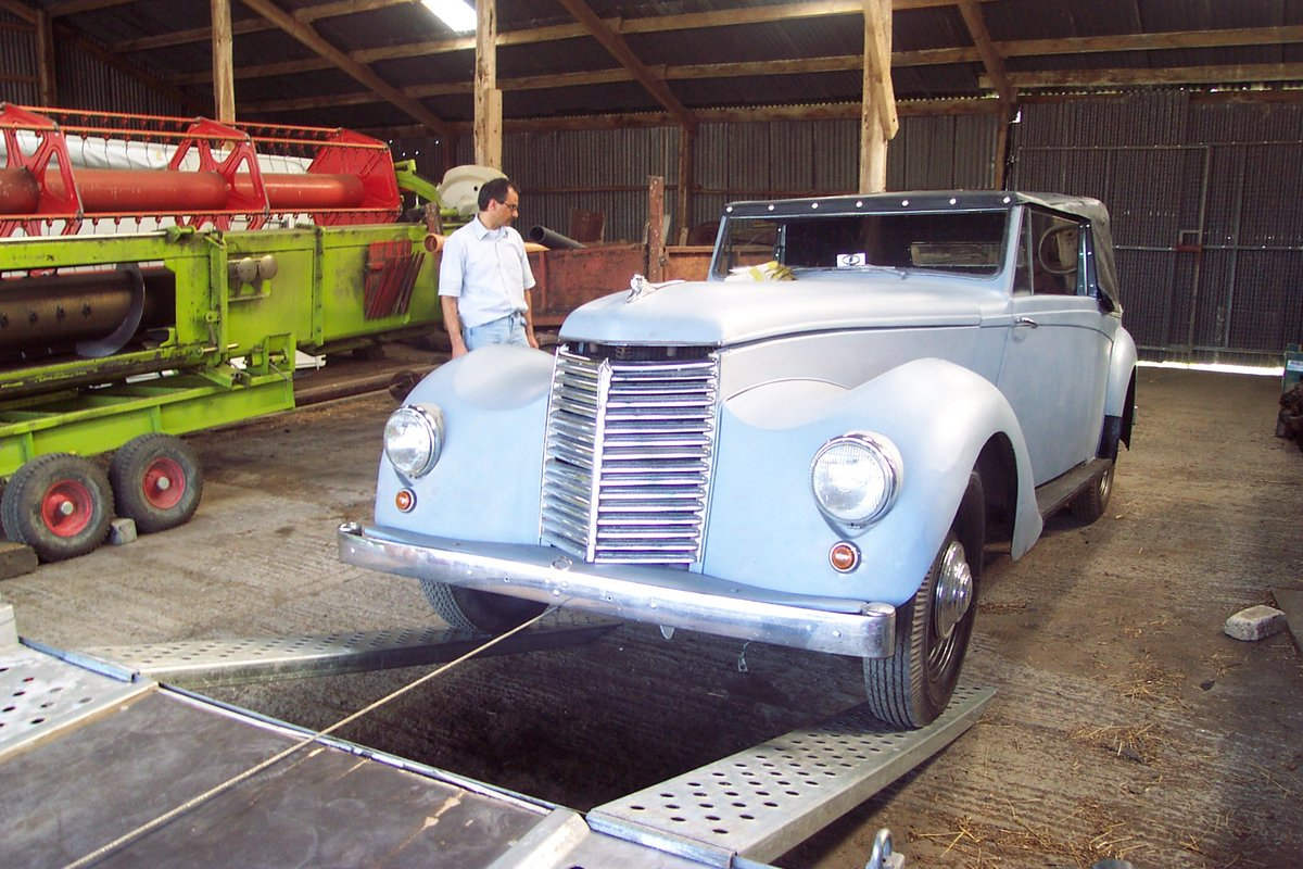 1951 Very rare Armstrong Siddeley for restoration For Sale (picture 1 of 6)