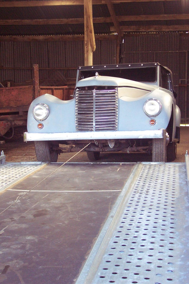 1951 Very rare Armstrong Siddeley for restoration For Sale (picture 2 of 6)