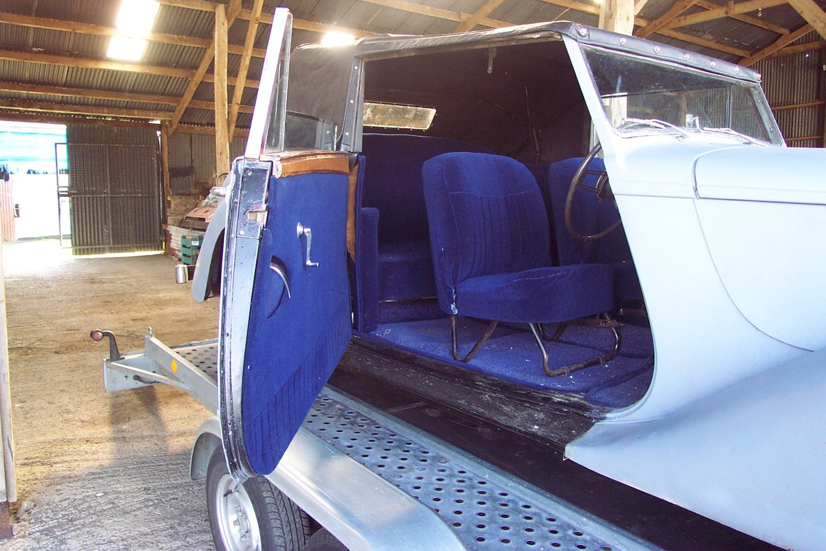 1951 Very rare Armstrong Siddeley for restoration For Sale (picture 3 of 6)