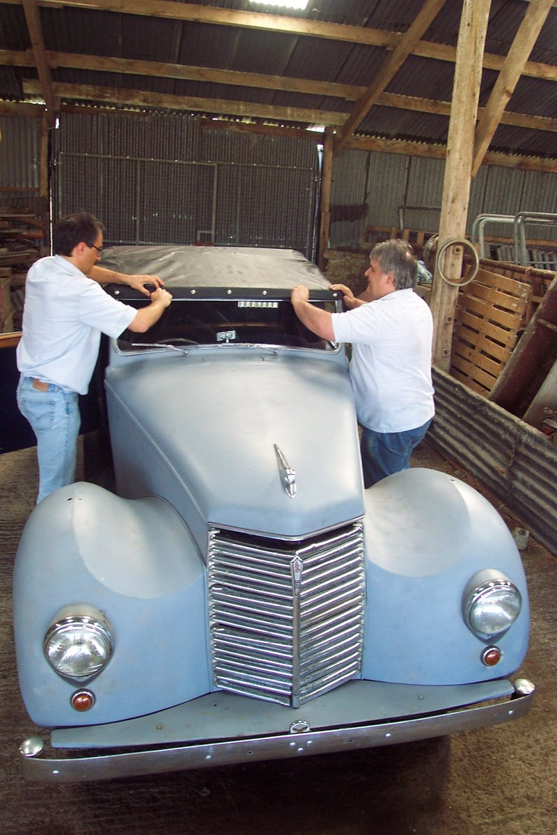 1951 Very rare Armstrong Siddeley for restoration For Sale (picture 6 of 6)
