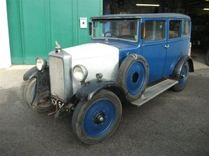 1931 Armstrong Siddeley 12/6 Saloon For Sale