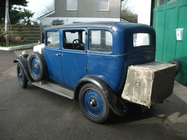 1931 Armstrong Siddeley 12/6 Saloon SOLD (picture 3 of 6)