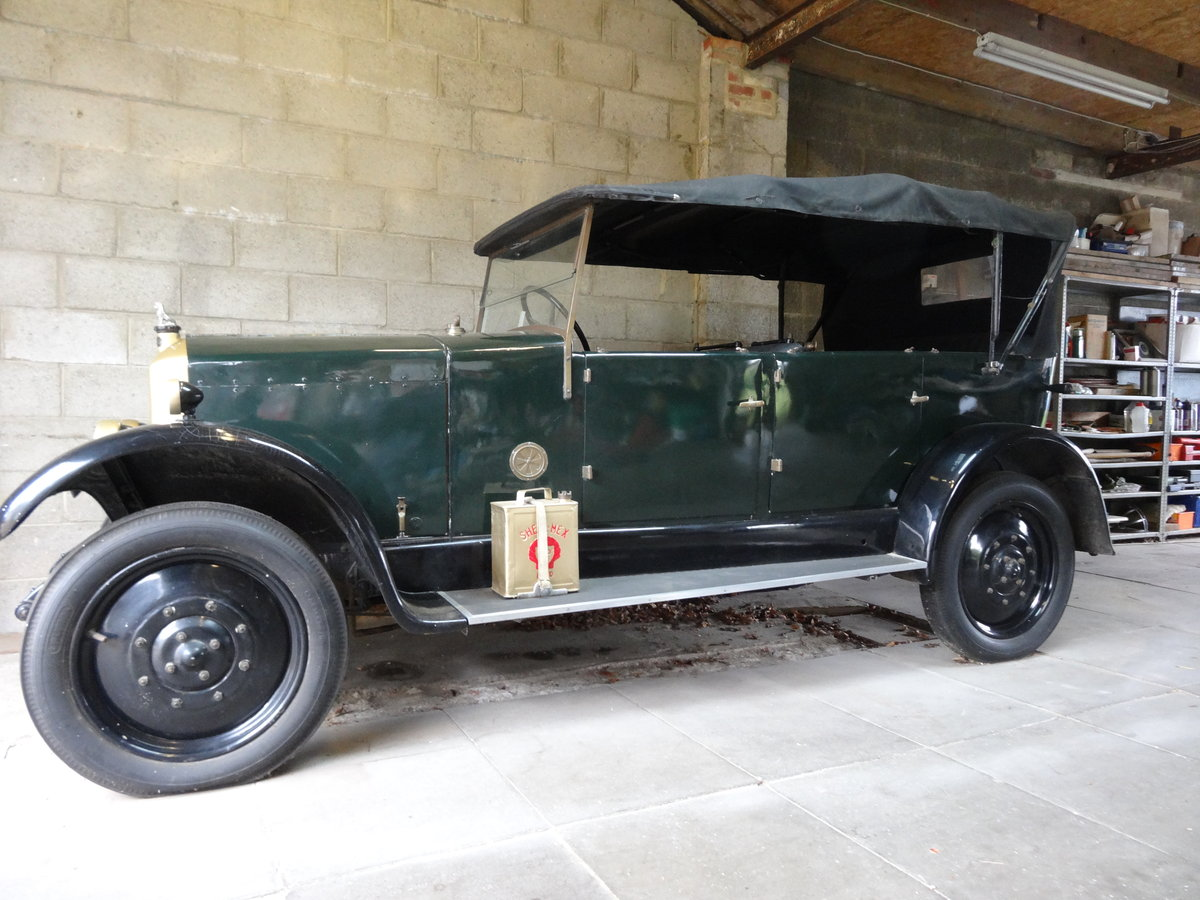 1926 Armstrong Siddeley 14HP Cotswold Tourer For Sale (picture 1 of 6)