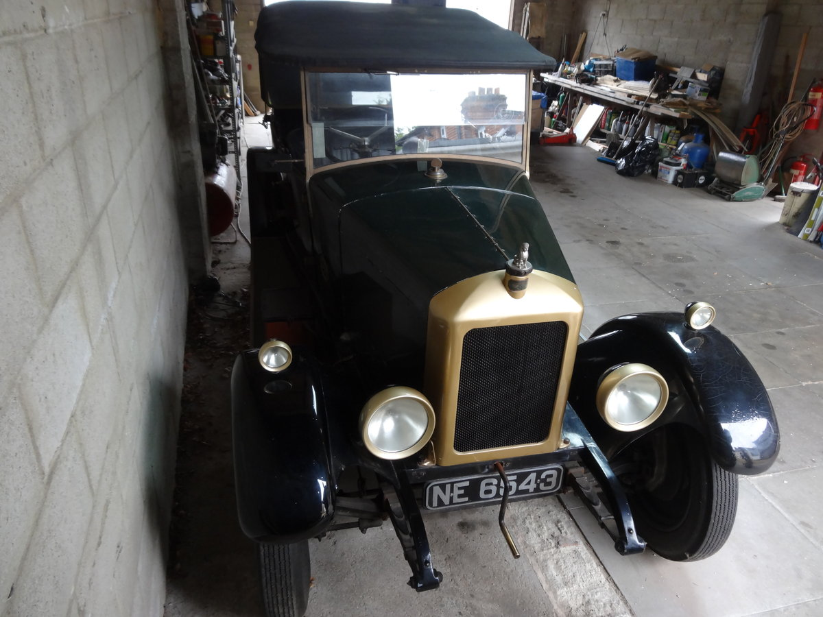 1926 Armstrong Siddeley 14HP Cotswold Tourer For Sale (picture 3 of 6)
