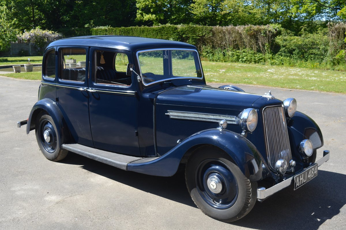 1938 Armstrong Siddeley 14/6 for Auction Friday 12th July For Sale by Auction (picture 1 of 6)