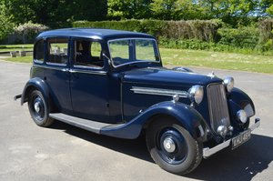 1938 Armstrong Siddeley 14/6 for Auction Friday 12th July