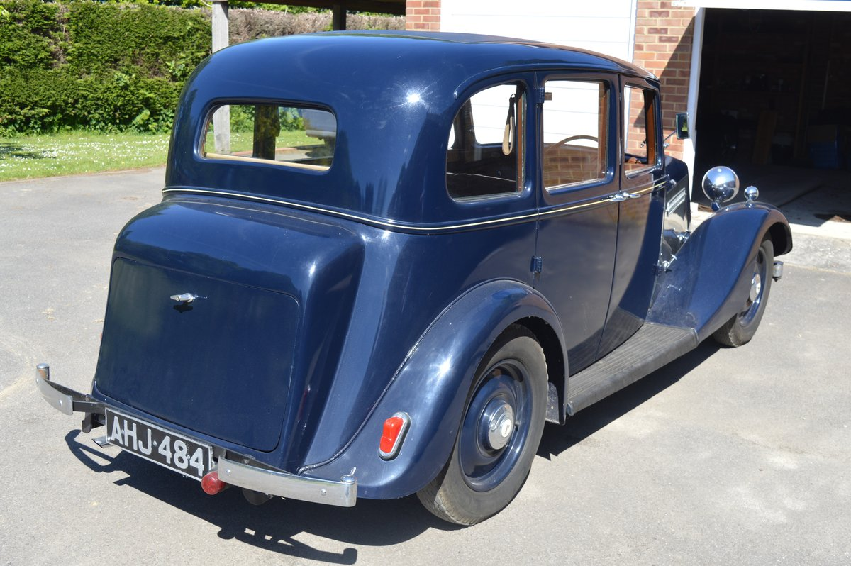 1938 Armstrong Siddeley 14/6 for Auction Friday 12th July For Sale by Auction (picture 2 of 6)