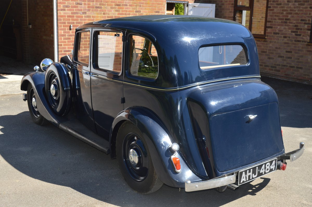 1938 Armstrong Siddeley 14/6 for Auction Friday 12th July For Sale by Auction (picture 3 of 6)