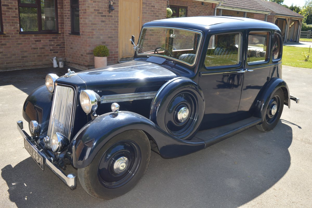 1938 Armstrong Siddeley 14/6 for Auction Friday 12th July For Sale by Auction (picture 4 of 6)