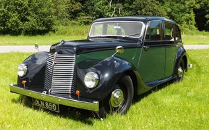 1947 Armstrong Siddeley 16hp Lancaster Saloon For Sale