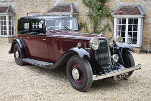 Lot 43 - A 1934 Armstrong Siddeley Special - 21/07/2019 For Sale by Auction