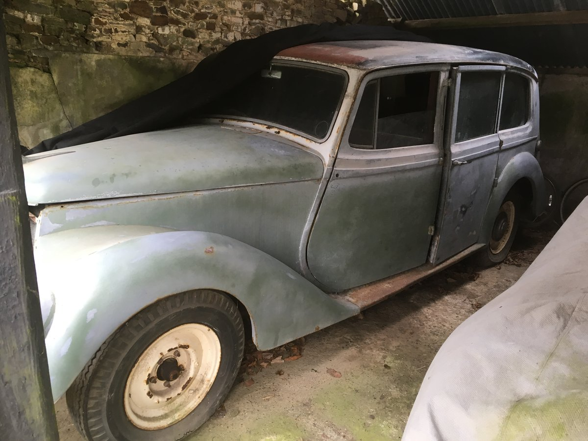 1951 Armstrong Siddeley Limousine For Sale (picture 1 of 6)
