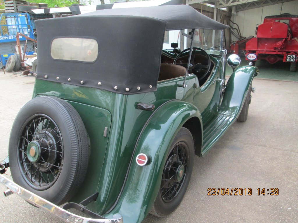 1936 Armstrong Siddeley Tourer SOLD (picture 4 of 6)