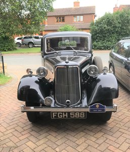 1938 Armstrong Siddeley 14HP saloon For Sale
