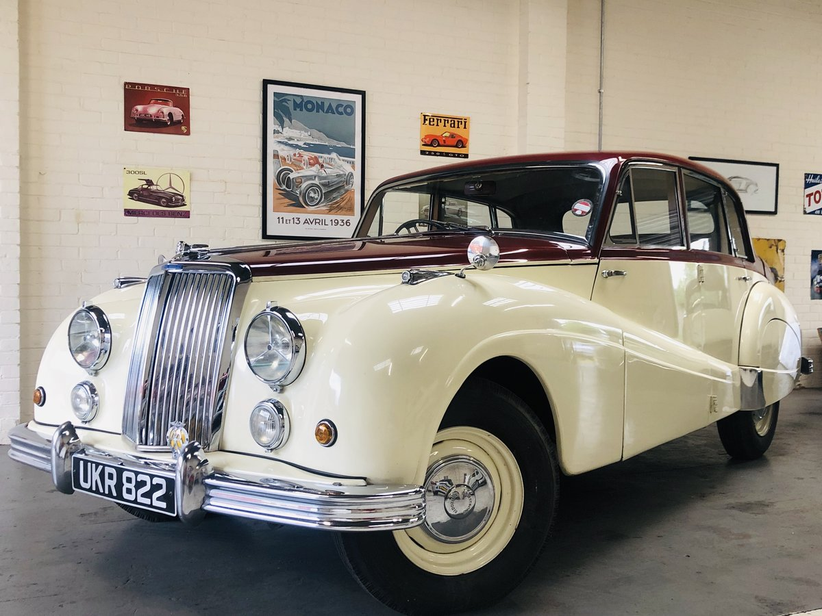 1955 ARMSTRONG SIDDELEY SAPPHIRE - SUPER CONDITION THROUGHOU SOLD (picture 1 of 6)