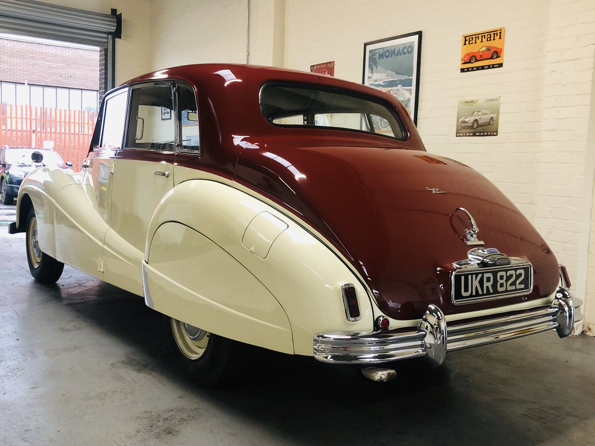 1955 ARMSTRONG SIDDELEY SAPPHIRE - SUPER CONDITION THROUGHOU SOLD (picture 2 of 6)