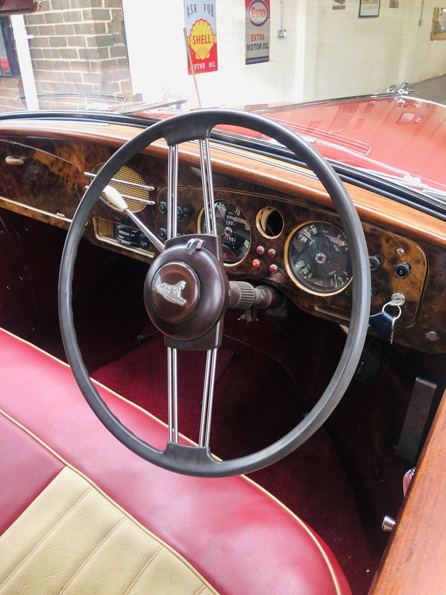 1955 ARMSTRONG SIDDELEY SAPPHIRE - SUPER CONDITION THROUGHOU SOLD (picture 5 of 6)