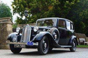1938 Armstrong Siddeley 14hp Saloon
