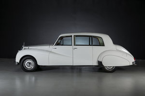 LIVE AUCTION 1956 ARMSTRONG SIDDELEY SAPPHIRE LIMOUSINE For Sale by Auction