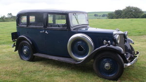 1935 ARMSTRONG SIDDELEY 12/6 SALOON For Sale by Auction