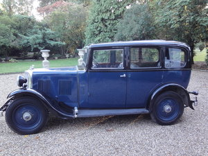 1933 Armstrong Siddeley 12/6  Survivor