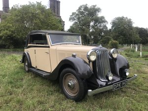 1936 Armstrong-Siddeley 4 door Maltby-bodied Tourer For Sale