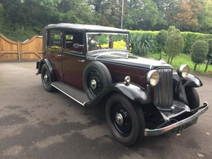 1935 Armstrong-Siddeley Salmons Tickford SOLD
